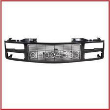 GMC Sierra  88 89 90 91 92 93 GRILLE W/ Composite Head Lamp Style Black