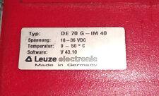Leuze electronic Barcode Controller Steuergerät MDS 70 DE 70 G-IM 40