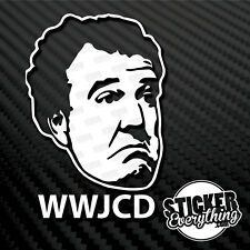 WHAT WOULD JEREMY CLARKSON DO VINYL DECAL STICKER STIG BBC TOP GEAR GRAND WWJCD