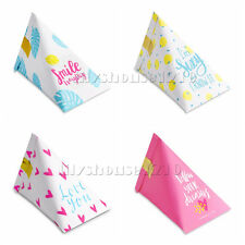 50Pcs Mixed Pink Heart Children Birthday Party Paper Favour Sweets Gift Boxes