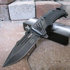Combat Military SPRING Assisted Folding KNIFE - Tactical Folder Master Ballistic