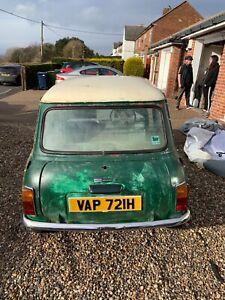 Classic mini 1970 project mk3 Cooper S