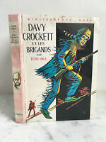 Davy Crockett E I Ladri Tom Hill Libreria Rosa 1969