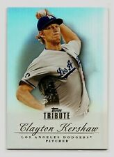 Clayton Kershaw L.A. Dodgers 2012 Topps Tribute #40 Refractor Mint