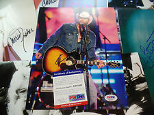 Toby Keith PSA/DNA COA Signed Autograph 8x10 country legend auto in concert