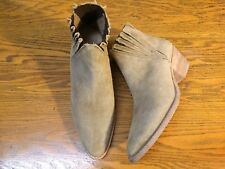 FREE PEOPLE FARYLROBIN TRILL SUEDE ANKLE BOOTS NEW SIZE 8
