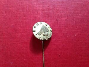 I.B.F Badminton Uber Cup 1988 Badge Pin