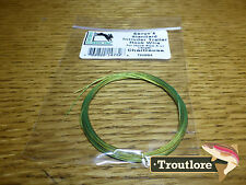 CHARTREUSE HARELINE SENYO'S INTRUDER TRAILER HOOK WIRE NEW FLY TYING MATERIALS