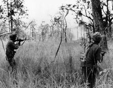 US Troops Battle of La Drang Valley 1965 Vietnam War Reprint Photo 6x5 Inch