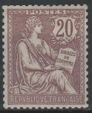 """FRANCE STAMP TIMBRE 126 """" MOUCHON 20c BRUN LILAS 1902 """" NEUF xx LUXE  M578"""
