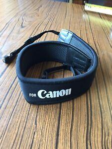 Canon Neck Strap Shoulder Universal Neoprene/none Slip Camera / Binoculars