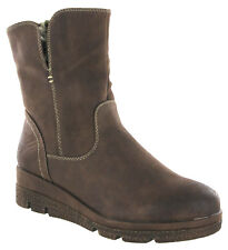 Cipriata Ankle Flat Boots Warm Lined Italian Fold Over Winter Snow Womens UK 3-8