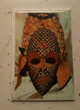 Graphic Expression African Art Kuba Mask Magnet/African American/BLACK AMERICANA