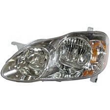 03-04 Toy Corolla CE, LE & S Sedan Left Driver Side Headlamp Assy w/Smoked Lens