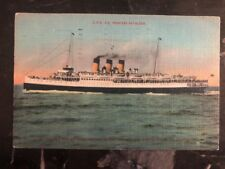 1940s Victoria Canada Postcard Cover CPR Princess Kathleen Ship To San Francisco