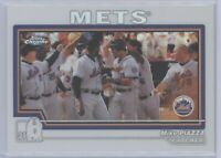 2004 Topps Chrome Mike Piazza Refractor #31 Mets HOF SP