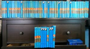Hardy Boys mixed Matte & Flashlight Complete Set all 1-58 books + Detective Book