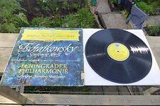 Tchaikovsky Symphony No.5 Mravinsky DGG Tulips Red Stereo ED1 138 658 Rare LP