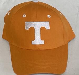 Tennessee Volunteers Vols Power T Captivating Headgear Orange Hat Cap New