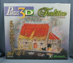 Wrebbit Puzz 3D 43 Lord Street Tradition Collection New Sealed Box  (264 pieces)