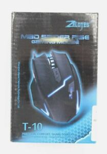 ZELOTES T-10 Mad Spider Rise Gaming Mouse - NEW/BOXED - Y96