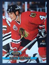 NHL 58 Keith Brown Chicago Blackhawks Stadium Club 1993/94