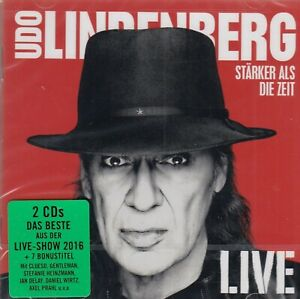 Udo Lindenberg / Stärker als die Zeit - Live(2 CDs, NEW! Original verschweißt)