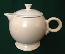 Vintage Homer Laughlin OLD IVORY Large Teapot Fiesta Rare Find & Beautiful Piece