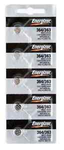 Energizer 364 363 Sr621SW SR621 Batteries, Durable,