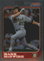 1997 Bowman Chrome St. Louis Cardinals Baseball Card #11 Mark McGwire