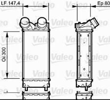 Ladeluftkühler Wärmetauscher VALEO (818837)