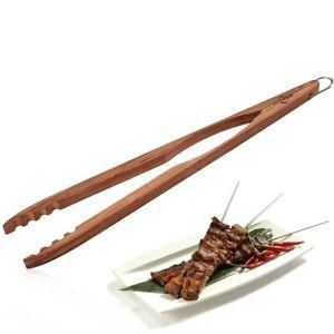 Kuchenprofi pinza alimentare in palissandro 45 cm con gancio