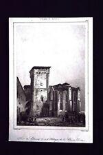 Tour de Clement VI, France Incisione del 1850 L'Univers pittoresque
