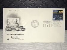 1999 DRIVE-IN MOVIES First Day Issue Postal Cover, NM, Ship Free