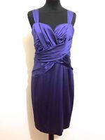 CALVIN KLEIN Abito Vestito Donna Da Sera Elegance Woman Party Dress Sz.M - 44