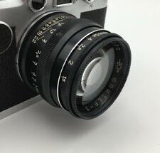 Jupiter-3 LTM Leica Thread Mount 50 mm F:1.5 Lens Rare Black EXC from Fedka