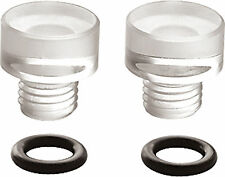 26-113 Holley Carburetor Fuel Bowl Sight Plugs Clear Carb HLY-26-11 2 PACK A45X1