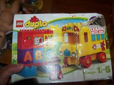 "LEGO Duplo 10603 My First Bus Learn with ABC 4"" School Bus - damaged packaging"