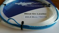 1X 400lbs quality wind-on leader 23 feet long. hand made by H2Opro