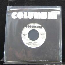 """Paul Young - Love Of The Common People 7"""" Mint- 38-04453 Vinyl 45 Promo"""