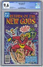 New Gods #12 (1977) CGC 9.6 KEY 1st Jezebelle Darkseid Appearance Adkins Milgrom