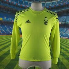 Nottingham Forest adidas high visibility Goalkeepers Shirt. 18 23 Age 13 14