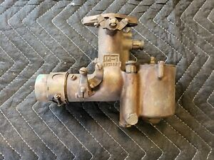 Nice Brass Stromberg M-1 Updraft Carburetor 1872409 1915 1927 Ford Model T
