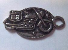 Route 66  Key Ring - Metal Harley
