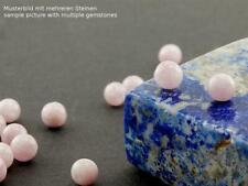 2x Kunzit - Kugeln 5 mm, rosa, gebohrt /1373s