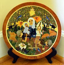 """Hedi Keller Collector Plate """"Die Anbetung"""" The Adoration Germany Religious"""