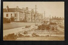 Cullercoats, Bank Top - near Whitley Bay - real photographic postcard