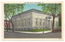The Post Office, Bellefonte Pa Centre County Postcard 071017