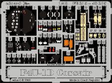 Eduard Zoom fe215 1/48 VOUGHT f4u-1d Corsair Tamiya