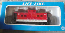 Vintage Ho Scale Life Like Campbell Soup Caboose Car in Box